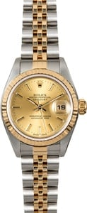 Datejust Ladies Rolex 69173 Index