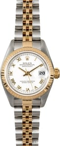 Datejust Ladies Rolex 79173 White Roman