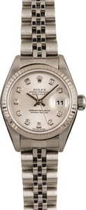 Lady-Datejust Rolex 79174 Silver Jubilee Diamond Dial