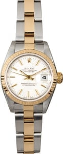 Datejust Rolex Womens 79173 Tapestry