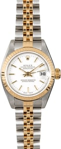 Datejust Rolex Ladies 79173 White Dial
