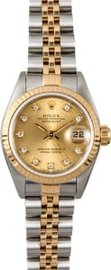 Diamond Rolex Ladies Datejust 69173