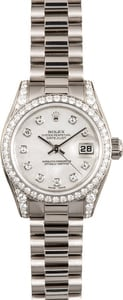 Diamond Rolex Ladies President 179159