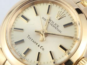 Ladies Rolex Oyster Perpetual 18K Yellow Gold