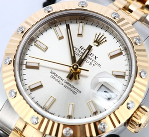 Two Tone Rolex Ladies Datejust 179313