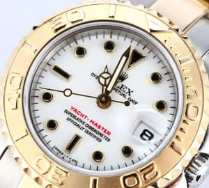Ladies Rolex Two tone Yacht-Master 69623
