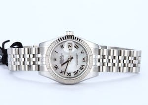 Ladies Rolex DateJust MOP dial 179174