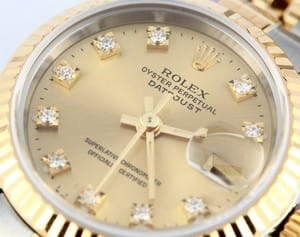 Lady Rolex DateJust 69173 Diamond Dial