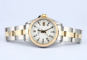 Lady Rolex Steel & Gold Date 6916