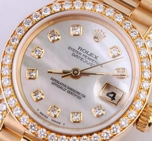 Ladies Rolex President Watch 69158