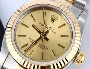 Rolex Ladies Pre Owned Oyster Perpetual 76193