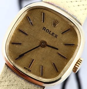 Ladies Rolex Gold Cocktail Watch