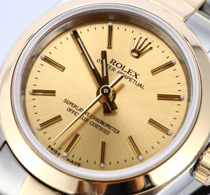 Ladies Rolex Oyster Perpetual 76183 x
