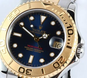 Rolex Mid-Size Yachtmaster 18k Gold & Steel 68623
