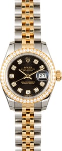 Ladies Datejust 179383 Diamond Dial