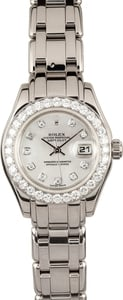 Ladies Pearlmaster 69299 Diamond Dial & Bezel