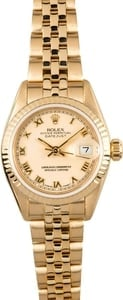 Ladies Datejust Rolex 69178 Honeycomb