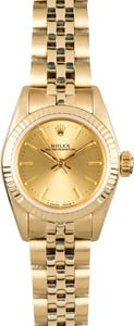 Ladies Gold Rolex Oyster Perpetual 6719