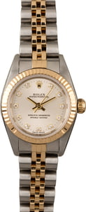 Ladies Oyster Perpetual Diamond Dial 76193