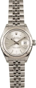 Pre Owned Rolex Datejust 279174 Silver Dial