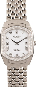 Pre Owned Rolex Cellini 6691 Diamond Bezel