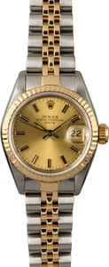 Lady Datejust 69173 Champagne Index Dial