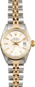 Ladies Rolex Date 6517 Two-Tone