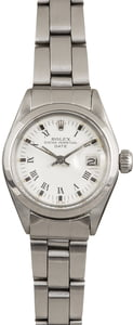 Vintage Rolex Lady Date 6916 Stainless Steel