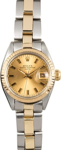 Ladies Rolex Date 6919 Two-Tone