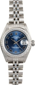 Ladies Rolex Date 79240 Blue