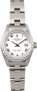 Ladies Rolex Date 79240 White Roman