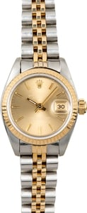 Ladies Rolex Datejust 26MM 69173 Champagne