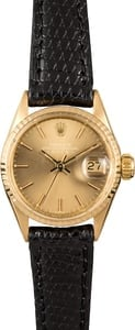 Ladies Rolex Datejust 6517
