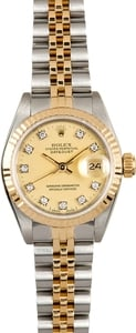 Rolex Ladies Datejust 69173 Diamond Dial