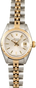 Used Rolex Datejust 69173 Silver Dial