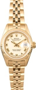 Ladies Rolex Datejust 69178 Honeycomb Jubilee