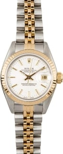 Ladies Rolex Datejust 69173 Silver Tapestry