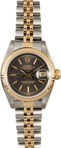 Ladies Rolex Datejust 69173 Tapestry Certified Pre-Owned