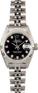Ladies Rolex DateJust Diamond Dial 69174