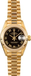 Rolex Ladies President Watch 69178 Roman Dial