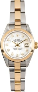 Ladies Rolex Datejust 79163 Diamond Mother of Pearl