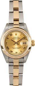 Ladies Rolex Datejust 79163 Oyster 100% Authentic