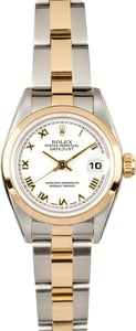 Ladies Rolex Datejust 79163 Two Tone Oyster