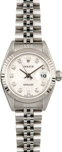 Ladies Rolex Datejust 79174 Jubilee Diamond Dial