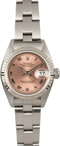 Ladies Rolex Datejust 79174 Pink