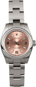 Ladies Rolex Oyster Perpetual 26 176200 Pink