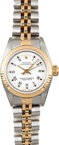 Ladies Rolex Oyster Perpetual 67193 Roman