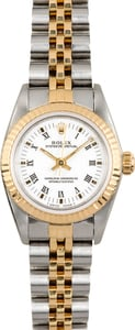 Ladies Rolex Oyster Perpetual 67193 White Dial