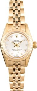 Ladies Rolex Oyster Perpetual 67198 Honeycomb