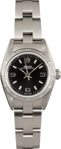 Ladies Rolex Oyster Perpetual 76030 Black